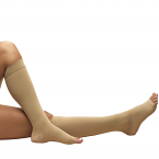 Truform 0808s (18mmHg Knee High, Open Toe, Short Length)