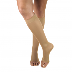 Truform 0361 (20-30 Knee High, Open Toe, Opaque)